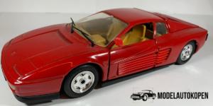 Ferrari Testarossa (Rood) - 1:24 (Opruiming) (1988)