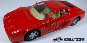 Ferrari 512TR (Rood) - Maisto 1:39 (Opruiming)
