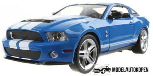 Ford GT-500 Blauw (Radiografisch Bestuurbaar)