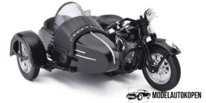Harley Davidson 1948 FL (Zwart)