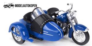 Harley Davidson 1952 FL Hydra Glide (Blauw)