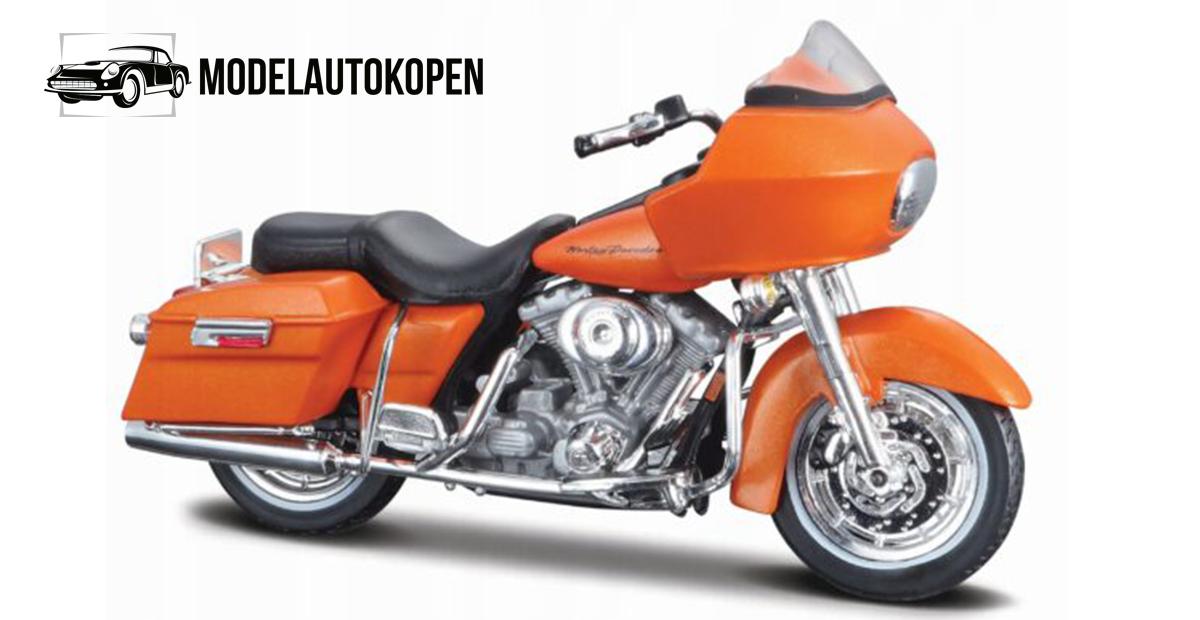 Harley Davidson 2002 FLTR Road Glide (Oranje)