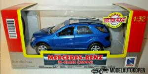 Mercedes-Benz M-Class (2006) Blauw