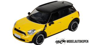 Mini Cooper S (Geel) (Radiografisch Bestuurbaar)