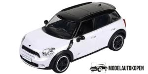 Mini Cooper S (Wit) (Radiografisch Bestuurbaar)