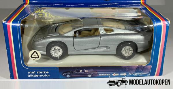 Mini-Sportwagen Jaguar XJ 220 (Grijs)