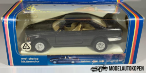 Mini-Sportwagen Mercedes-Benz Coupe (Bruin) - Welly 1:43