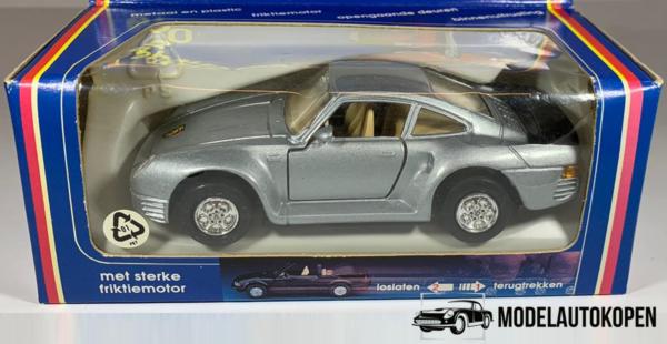 Mini-Sportwagen Porsche 959 (Grijs)