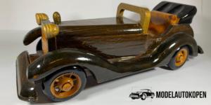 Handgemaakte Vintage Cabriolet Auto - (Opruiming)