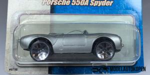 Porsche 550A Spyder (Grijs) - 1:64