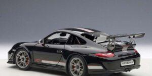 Porsche 911 GT3 RS4.0 (Zwart) (Radiografisch Bestuurbaar) 1/18 Jian Feng Yuan Toys