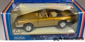 Super Racer Cabrio Pull Back & Go (Goud) - Welly 1:43