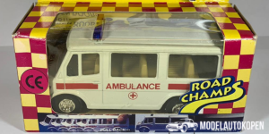 Road Champs Emergency Series Ambulance - Welly 1:43