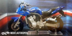 Yamaha Fazer 1000 (Blauw) (12 cm) 1/24 Atlas Superbikes