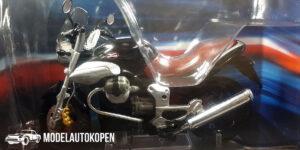 Moto Guzzi Breva V1100 (Zwart) (12 cm) 1/24 Atlas Superbikes