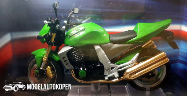 Kawasaki Z1000 (Groen) (12 cm) 1/24 Atlas Superbikes