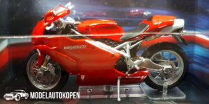 Ducati 999 Testastretta (Rood) (12 cm) 1/24 Atlas