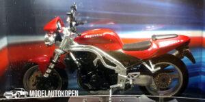 Triumph 955 Speed Triple (Rood) (12 cm) 1/24 Atlas