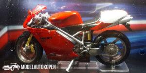 Ducati 998R (Rood) (12 cm) 1/24 Atlas