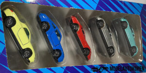 Sport Fahrzeuge 5 Raceauto set (5 auto's)