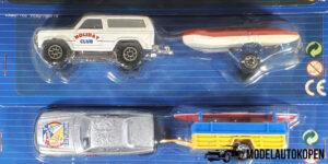 Holiday Team Set ( 5 auto's met aanhanger)