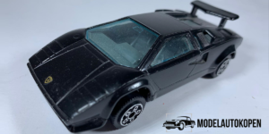Lamborghini Countach 5000 S (Zwart) - Bburago 1:43 (Opruiming)