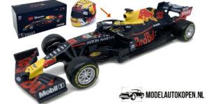 Aston Martin Red Bull Racing - TAG Heuer RB15 (2019) (Donkerblauw) 1/43 Bburago