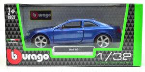 Audi A5 (2010) Blauw 1/32 Bburago