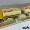 Shell 327 Oil Tanker Truck + Oil Trailer - Majorette