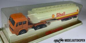 Shell Oil Truck 364 + Trailer - Majorette 1:100