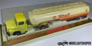 Shell truck met tanktrailer (geel) - Majorette 1:100