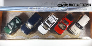 Off-Road auto collectie (5 auto's) - Cararama 1:43
