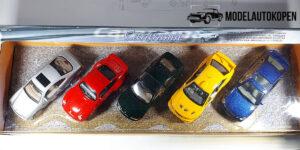 Sport auto collectie (5 auto's) - Cararama 1:43