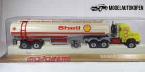 Shell Oil Tanker Truck Scania 364 - Majorette Serie 3000 1:100