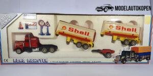 Shell Oil Tanker Truck - Road Monster 1:64