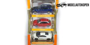 Street Cars Set (3 Auto's) - Bburago 1:43