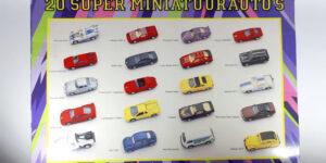 20 Super miniatuurauto's
