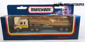 Shell Scania Convoy CY-17 truck met trailer 1987 - Matchbox