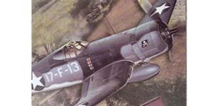 Vought F4U Corsair (Amerikaanse Leger Vliegtuig) #2 schaal 1/48