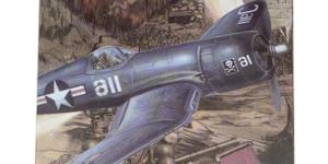 Vought F4U Corsair (Amerikaanse Leger Vliegtuig) #3 schaal 1/48