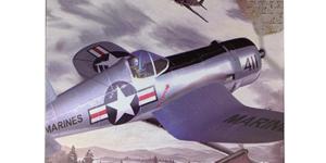 Vought F4U Corsair (Bouwpakket) (Amerikaanse Leger Vliegtuig) #4 schaal 1/48