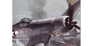 Vought F4U Corsair (Bouwpakket) (Amerikaanse Leger Vliegtuig) #5 schaal 1/48