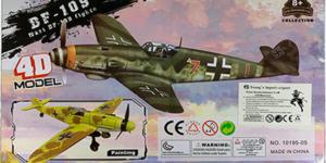 Nazi DF-109 Fighter Bouwpakket #3 - schaal 1/49
