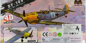 Nazi DF-109 Fighter Bouwpakket #2 - schaal 1/49