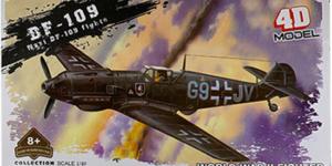 Nazi DF-109 Fighter Bouwpakket #1 - schaal 1/49