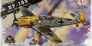 Nazi DF-109 Fighter Bouwpakket #5 - schaal 1/49