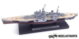 HMS Anson - Schaalmodel Oorlogsschip (15cm) Atlas Collections
