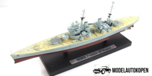 HMS Prince of Wales - Schaalmodel Oorlogsschip (15cm) Atlas Collections