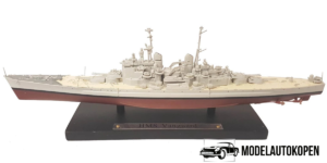 HMS Vanguard - Schaalmodel Oorlogsschip (15cm) Atlas Collections