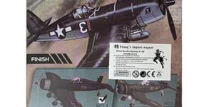 Vought F4U Corsair (Amerikaanse Leger Vliegtuig) #1 schaal 1/48